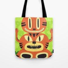 Totem Cat Tote Bag