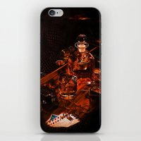 whiskey iPhone & iPod Skins featuring Whiskey by Esra Meral Demircan