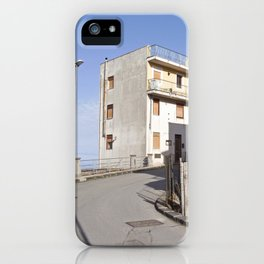 Little Village at the Sea - Forza d'Agro - Sicily  iPhone Case