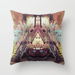 The Alley Corner Throw Pillow