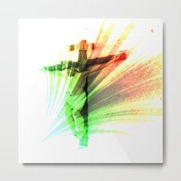 Jesus Christ 02 Metal Print