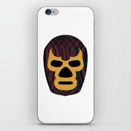 Masked Man 1 - Red iPhone Skin