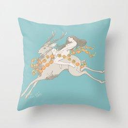 Winter Harvest Throw Pillow