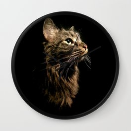 Cosmo In Profile Wall Clock