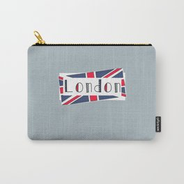 Home, Love, Illustration, Heart, london  Carry-All Pouch