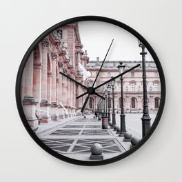 French Pigeons Wall Clock