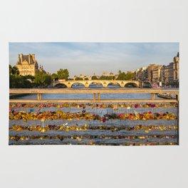 Love padlocks - Paris Rug
