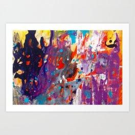 Spirits by Noora Elkoussy Art Print