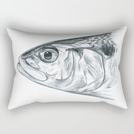 Portrait of a shad Rectangular Pillow