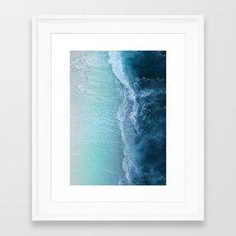 Turquoise Sea Framed Art Print