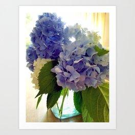 Hydrangea Bouquet Art Print