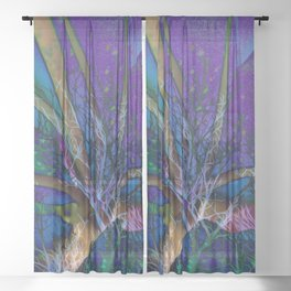 Fairy Forest Sheer Curtain