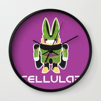 android Wall Clocks featuring Perfect Android by thom2maro