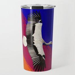 Sunset bird Travel Mug