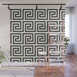 Greek Key Wave Wall Mural