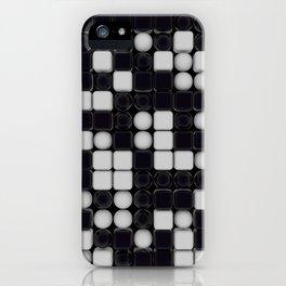 B&W Pattern III iPhone Case
