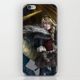 astrid & stormfly HOW TO TRAIN YOUR DRAGON 2 iPhone Skin