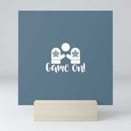 Game On Mini Art Print
