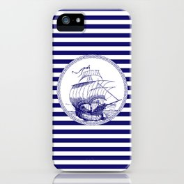 Marine - ship iPhone Case