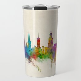 Shrewsbury England Skyline Travel Mug