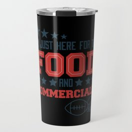 Funny American Football Superbowl Design Travel Mug