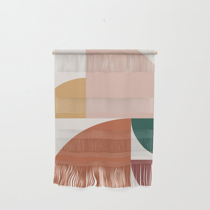 Abstract Geometric 10 Wall Hanging