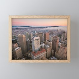 Financial District Framed Mini Art Print