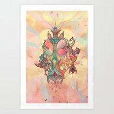 The Fountain of Originality Art Print