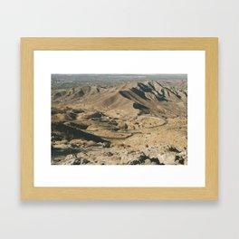 Winding Road Framed Art Print
