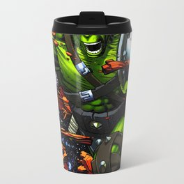 green rampage Travel Mug