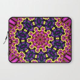 Abstract Paradise - Purple Arrow Laptop Sleeve