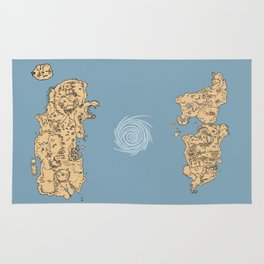 Map of Classic WoW - Vanilla Azeroth Rug