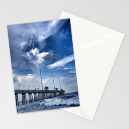 Jennette's Pier at Dusk, Nags Head, North Carolina, Outer Banks OBX  Stationery Cards