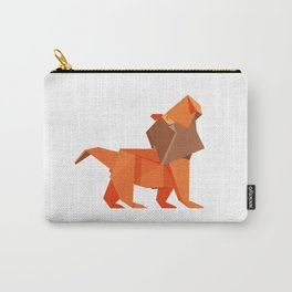 Origami Lion Carry-All Pouch