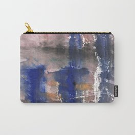 Pink blue watercolor Carry-All Pouch