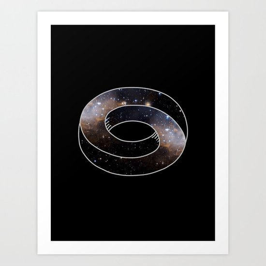 The Universe Cycle Art Print