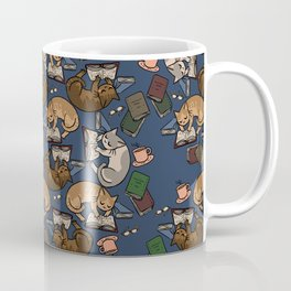 Book Cats Coffee Mug