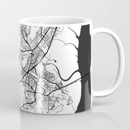 Mumbai Map Gray Coffee Mug