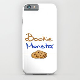 Bookie Monster 2 iPhone Case