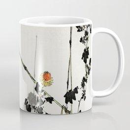 Swallow On Branch Traditional Japanese Wildlife Coffee Mug