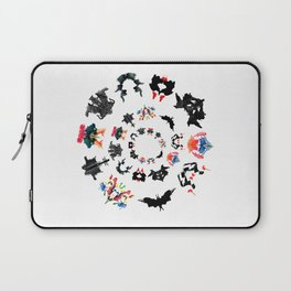 Rorschach test subjects' perceptions of inkblots psychology   thinking Exner score Laptop Sleeve