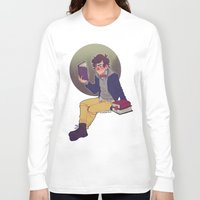 preppy Long Sleeve T-shirts featuring preppy dipper by monsternist