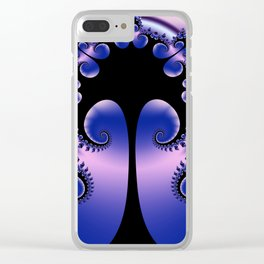 just a fractal tree -4- Clear iPhone Case
