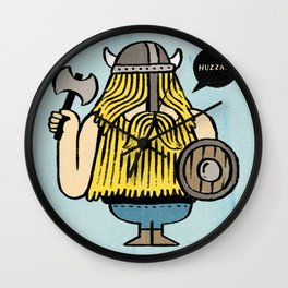 Pillage and Plunder Wall Clock