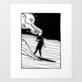 """ Dawn Patrol "" Art Print"