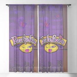 Peekaboo Sheer Curtain