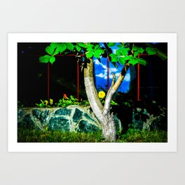 Chestnut Tree Art Print