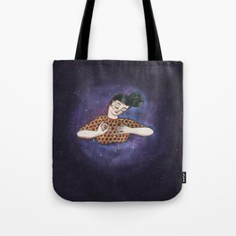 Thread of life Tote Bag