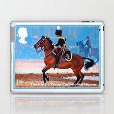 The King's Troop Ceremonial Horses Laptop & iPad Skin