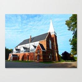 St. Paul's Church Sturgeon PEI Canvas Print